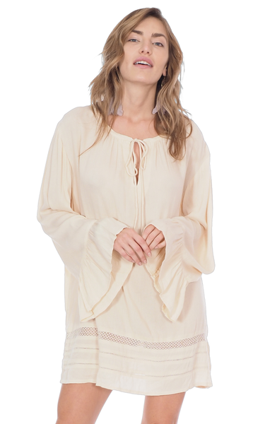 Summer Breeze Bell Sleeve Cover Up