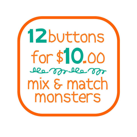 12 buttons for $10 - fishcakes