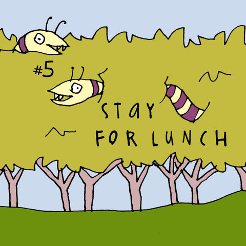 Stay For Lunch - Doodles vol. 5 - fishcakes