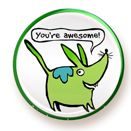 You're Awesome - magnet - fishcakes