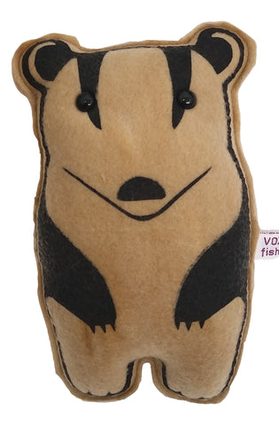 Badger Plush - fishcakes
