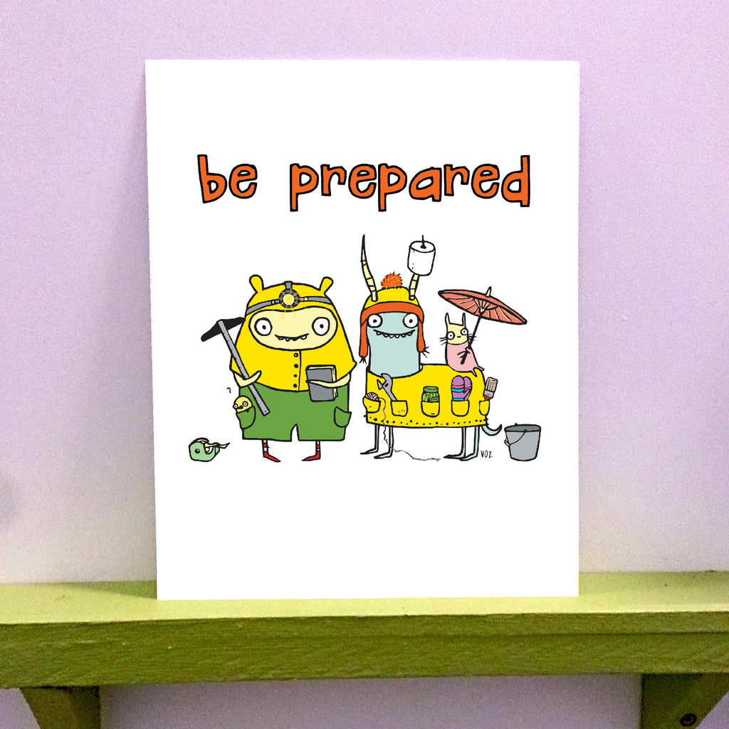 Prepared - 8 x 10 print - fishcakes