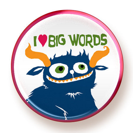 Big Words - magnet - fishcakes
