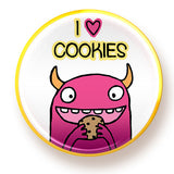 I heart Cookies - magnet - fishcakes