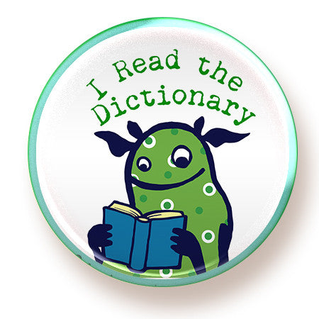 I Read the Dictionary - magnet - fishcakes
