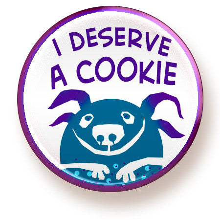 I Deserve a Cookie - magnet - fishcakes