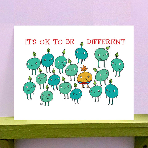 Be Different - 8 x 10 print - fishcakes