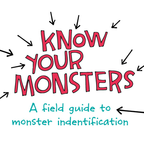 Know Your Monsters - book - fishcakes