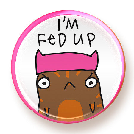Fed Up - magnet - fishcakes