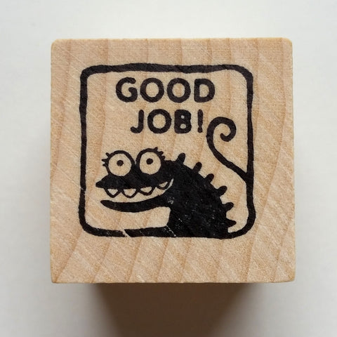 Good Job - Teacher Rubber Stamp - fishcakes