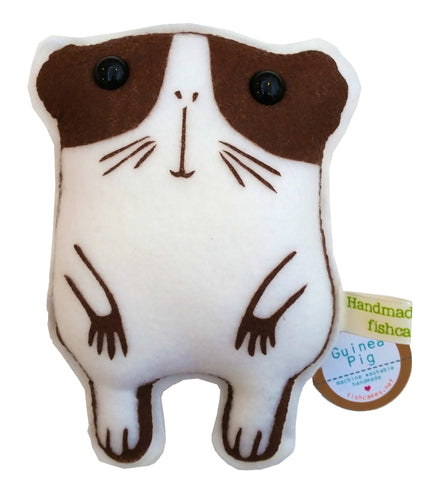 Guinea Pig Plush - fishcakes