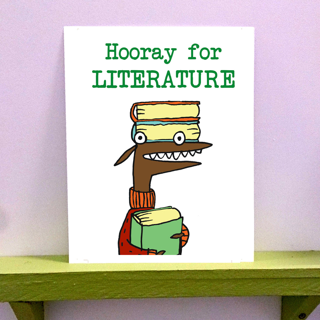 Literature - 8 x 10 print - fishcakes