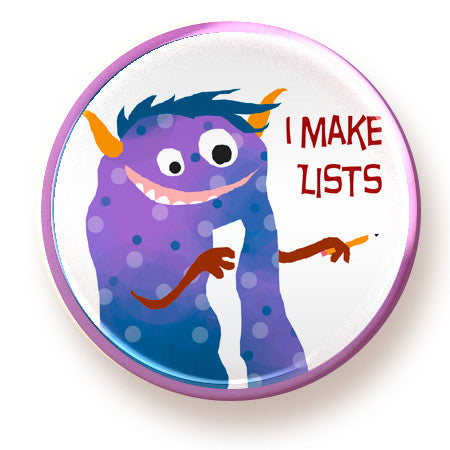 I Make Lists - magnet - fishcakes