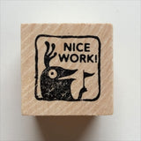 Nice Work - Teacher Rubber Stamp - fishcakes