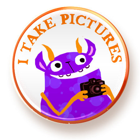 Take Pictures - button - fishcakes