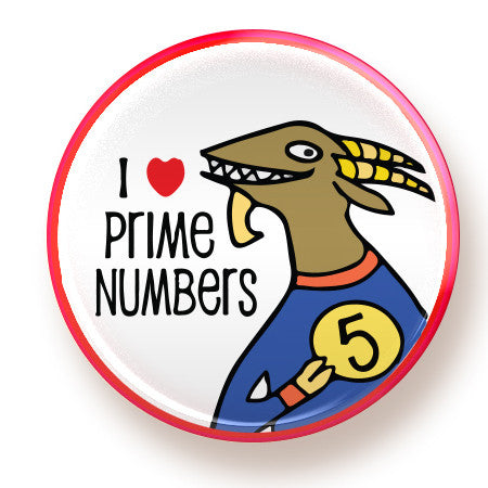 Prime Numbers - magnet - fishcakes