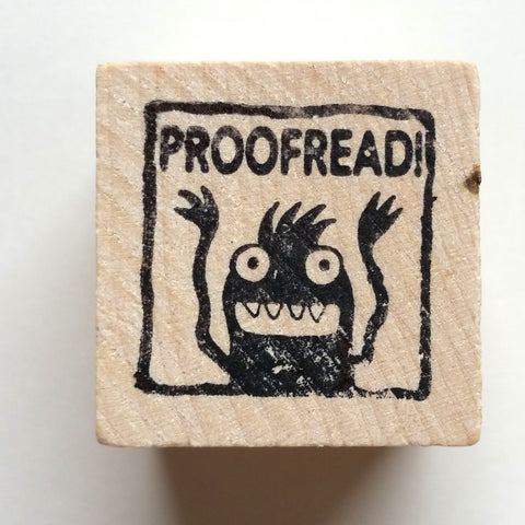 Proofread - Teacher Rubber Stamp - fishcakes