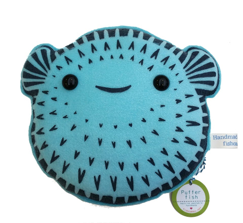 Pufferfish Plush - fishcakes