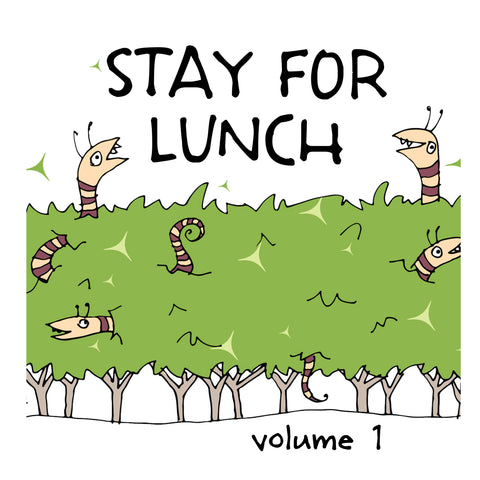 Stay For Lunch - Doodles vol. 1 - fishcakes