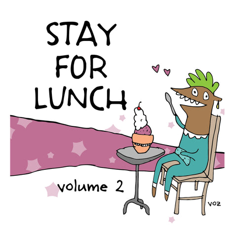 Stay For Lunch - Doodles vol. 2 - fishcakes