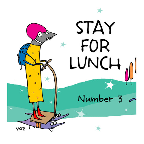 Stay For Lunch - Doodles vol. 3 - fishcakes