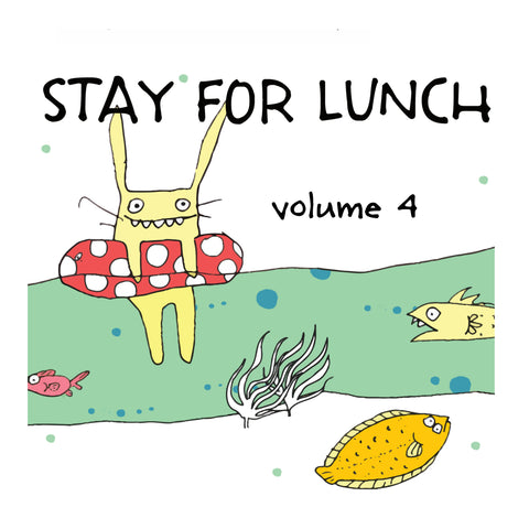 Stay For Lunch - Doodles vol. 4 - fishcakes