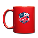 OATH Full Color Mug - red