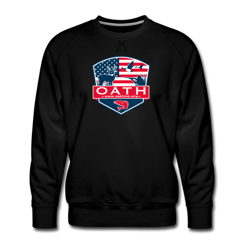 OATH Men's Premium Sweatshirt - black