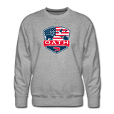 OATH Men's Premium Sweatshirt - heather gray