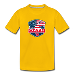 OATH Kids' Premium T-Shirt - sun yellow
