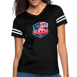 Women's Vintage Sport T-Shirt - black/white