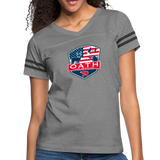 Women's Vintage Sport T-Shirt - heather gray/charcoal