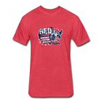 OATH RED Fitted 60/40 Cotton/Poly T-Shirt - heather red