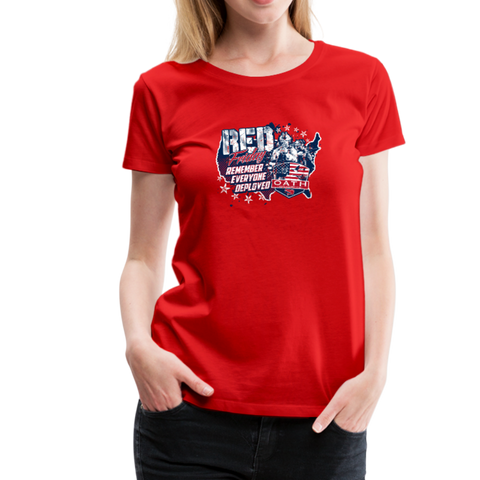 OATH RED Women's Premium T-Shirt - red