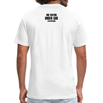 Fitted Cotton/Poly T-Shirt - white