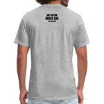 Fitted Cotton/Poly T-Shirt - heather gray