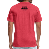 Fitted Cotton/Poly T-Shirt - heather red