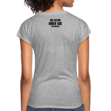 Women's Tri-Blend V-Neck T-Shirt - heather gray