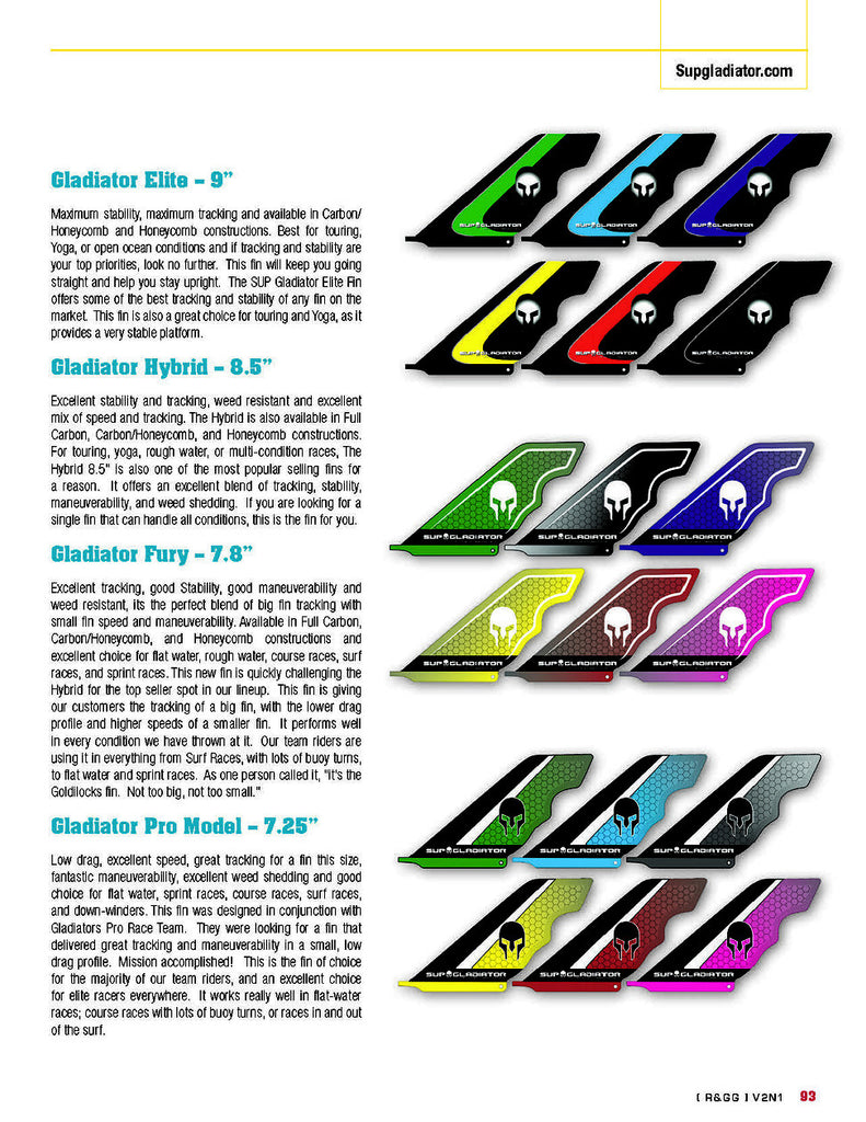 Our new 2016 Lineup in Standup Paddle Magazine Gear Guide