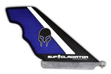 Purple Carbon and Honeycomb SUP Gladiator Pro Model Race Fin
