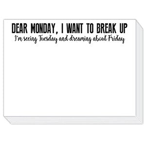 Dear Monday Mini Slab Notepad