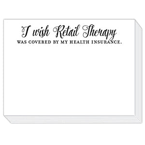 Retail Therapy Mini Slab Notepad