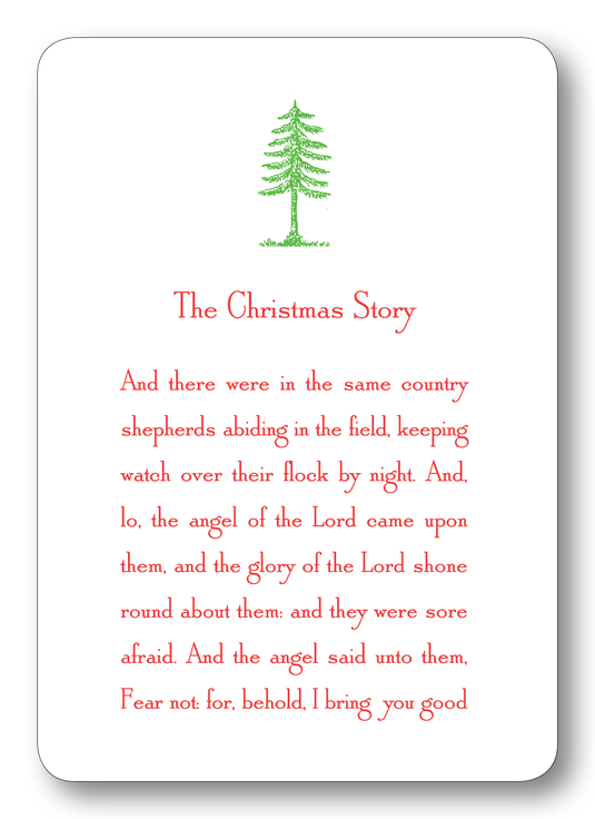 The Christmas Story Enclosure Cards