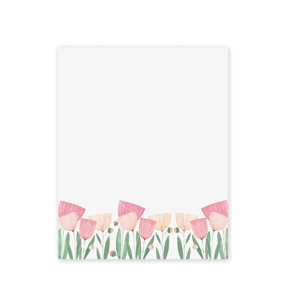Blooms Mini Notepad