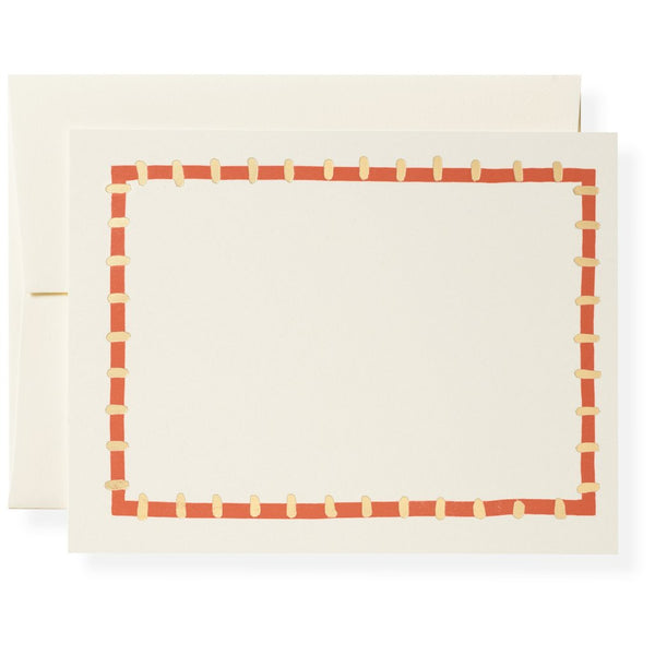 Kate in Coral Notecards