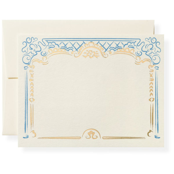 Nicole in French Blue Notecards
