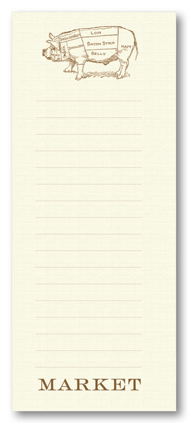 Butcher's Pig Long Notepad