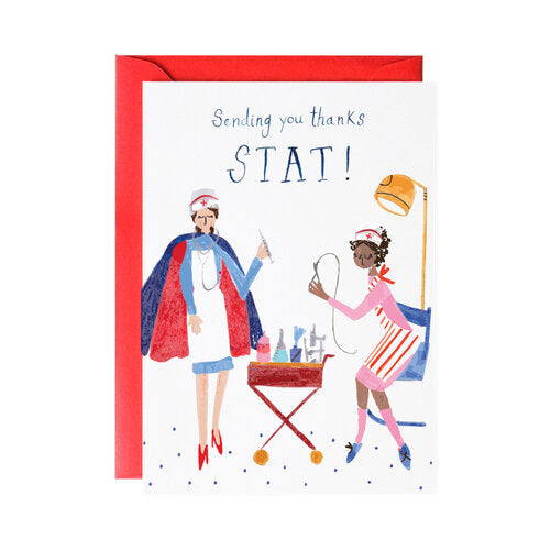 Nurses Greeting Card