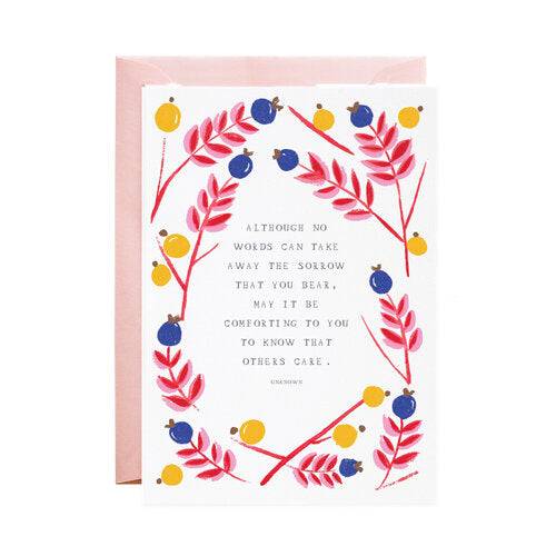 I Am With You Greeting Card