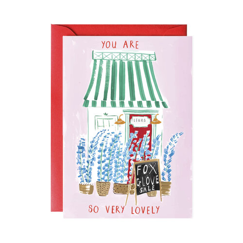 Fleur Shop Greeting Card